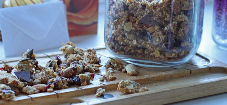 Festive Crunch Granola Recipe