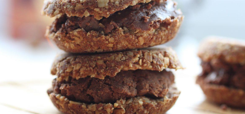 Coconut cream cookies