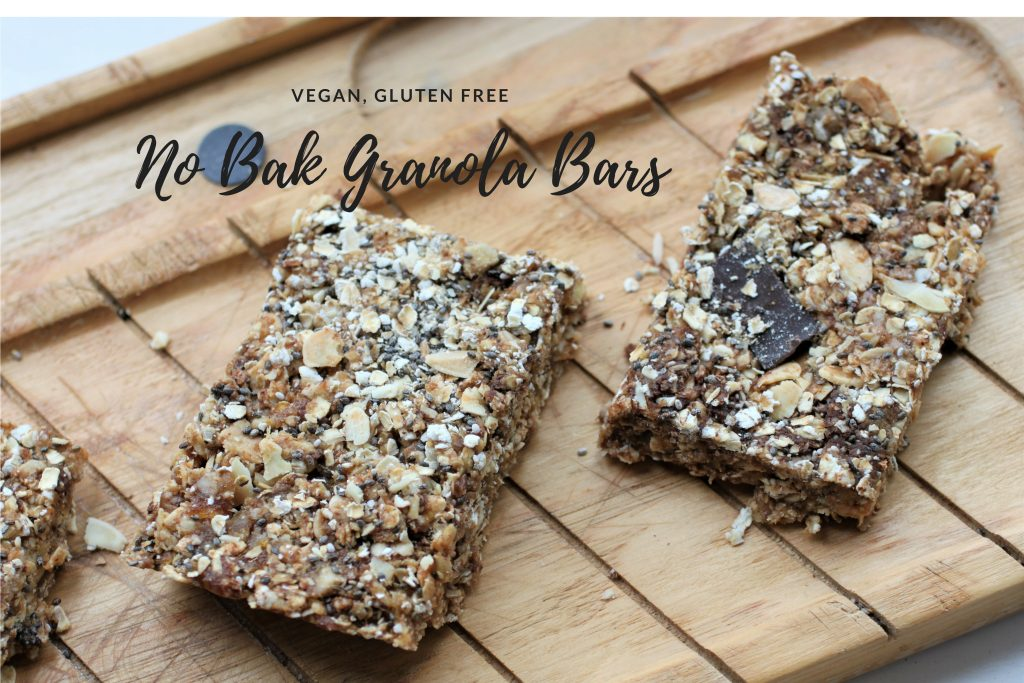No Bake Granola Bars (oil free) | Vg, GF