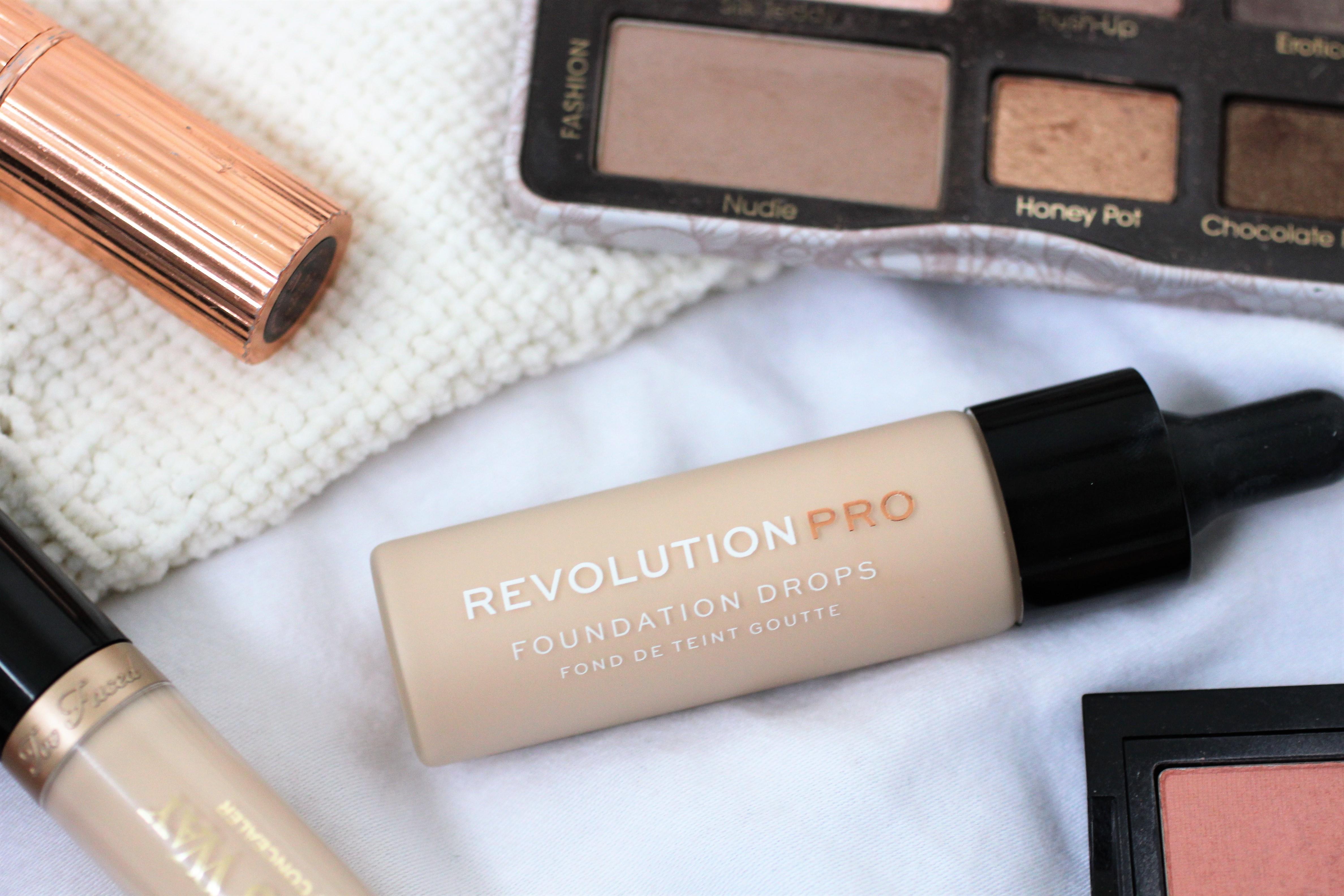 revolution pro foundation drops