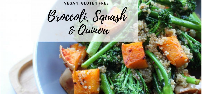 Broccoli, Squash and Quinoa
