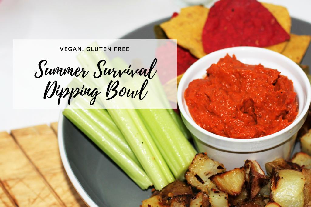 Dipping Bowl | Summer Survival Recipes | Vegan, GF