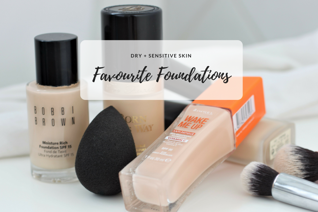 Favourite Foundations for Dry Skin
