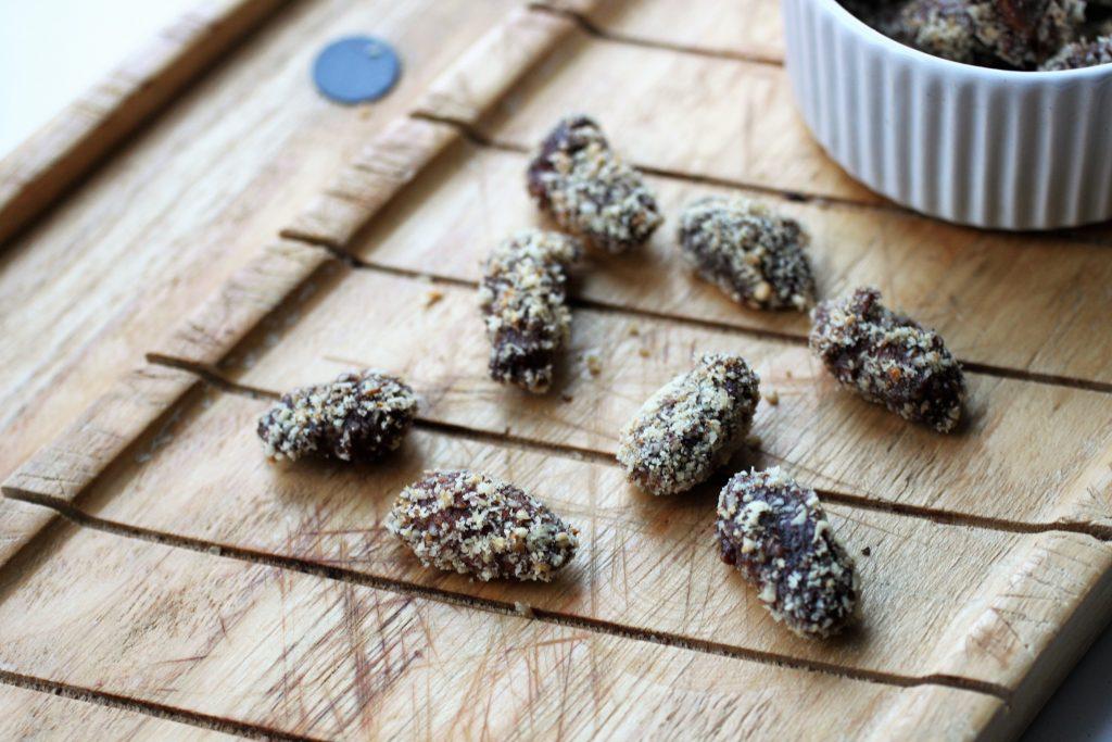 Salted Caramel Candied Almonds Recipe | Vegan, GF