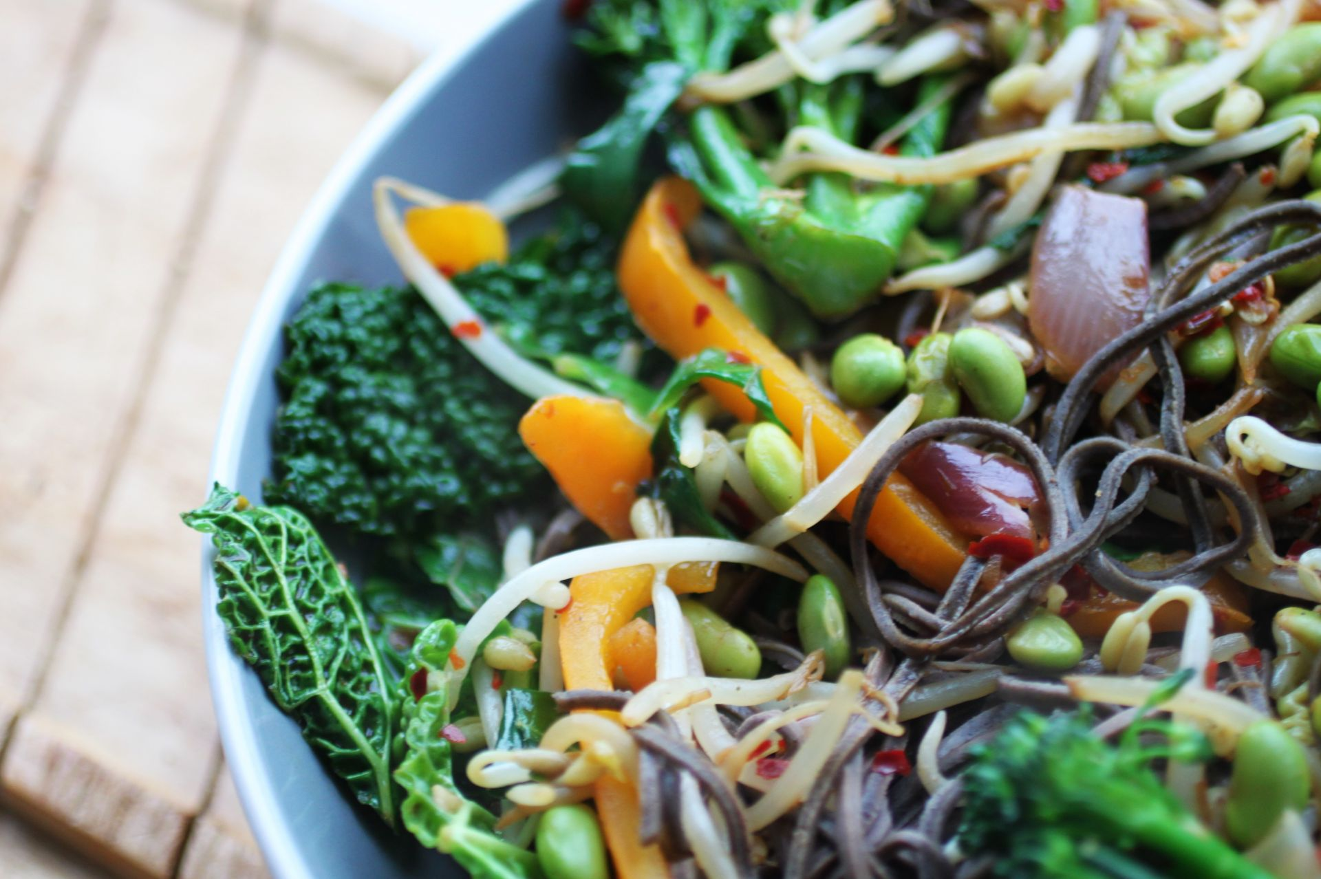 High Protein Vegan Stir Fry Recipe No Tofu Glow Steady